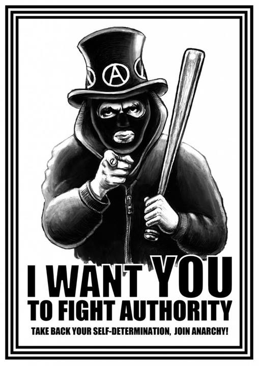 image I want you to fight authority
